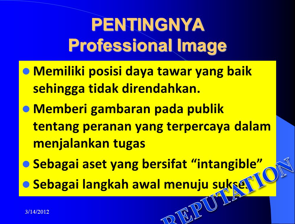 PENTINGNYA Professional Image