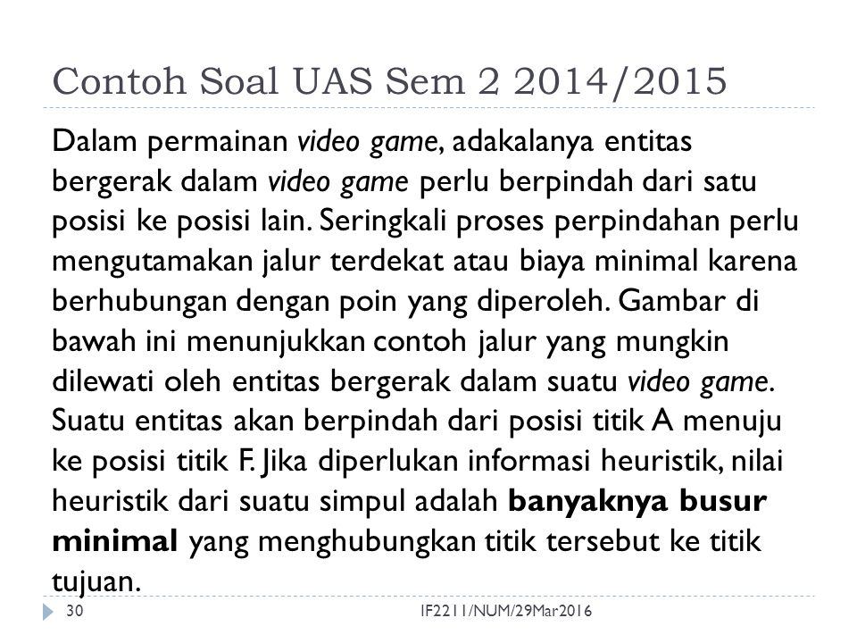 Contoh Soal UAS Sem 2 2014/2015