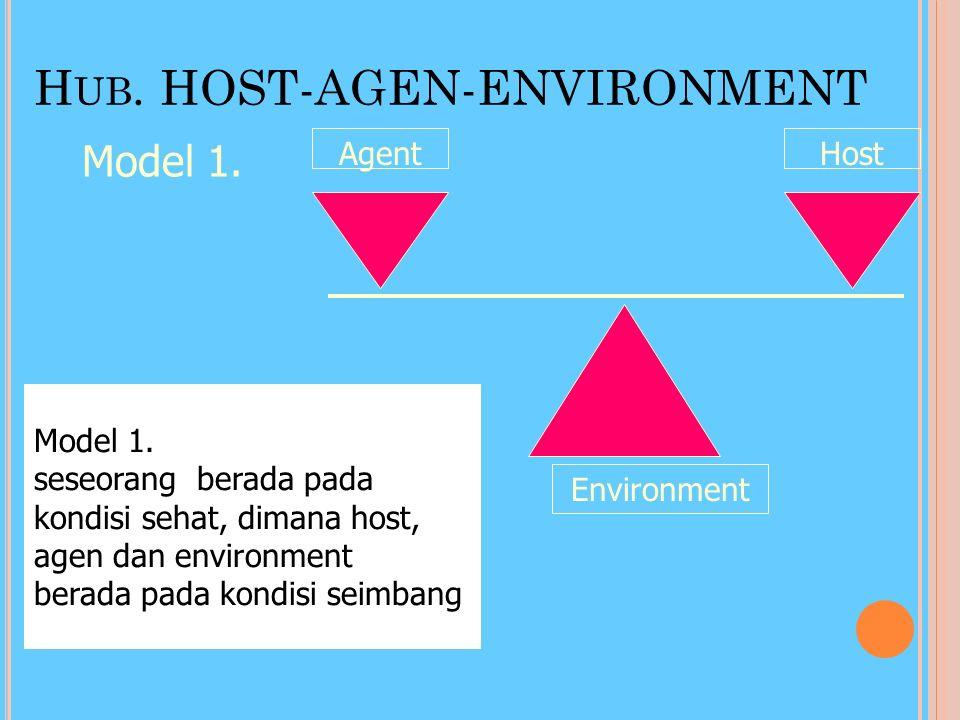 Hub. HOST-AGEN-ENVIRONMENT