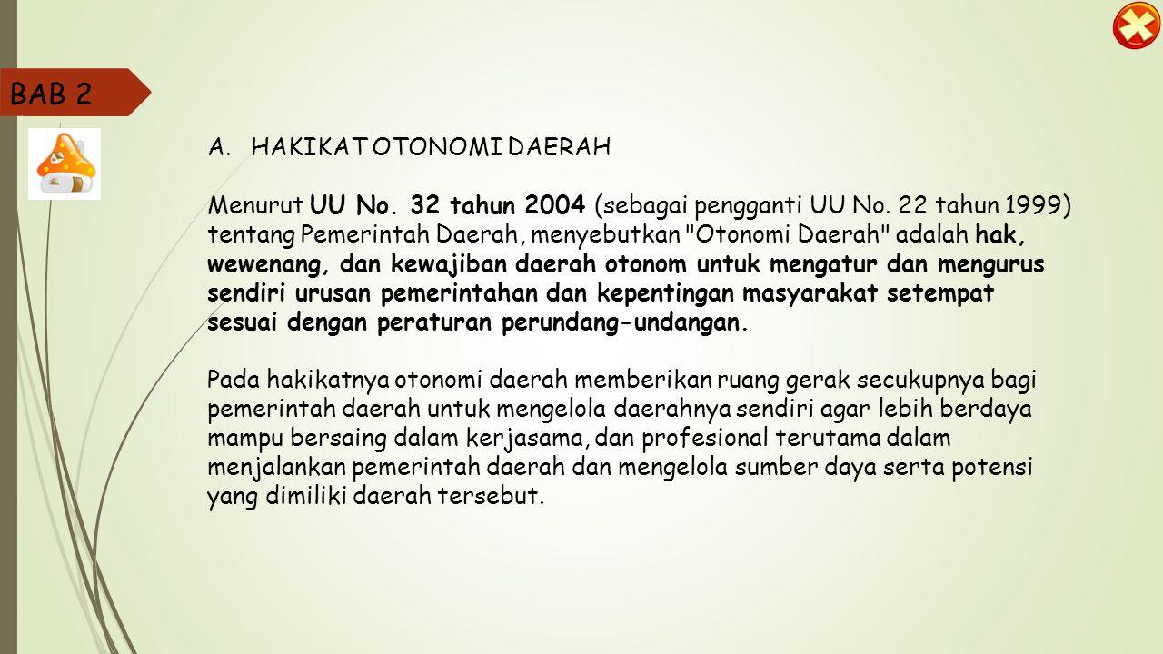 BAB 2 HAKIKAT OTONOMI DAERAH