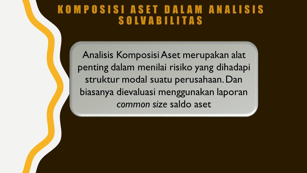 Komposisi Aset dalam Analisis Solvabilitas