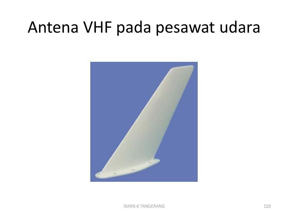 Antena VHF pada pesawat udara