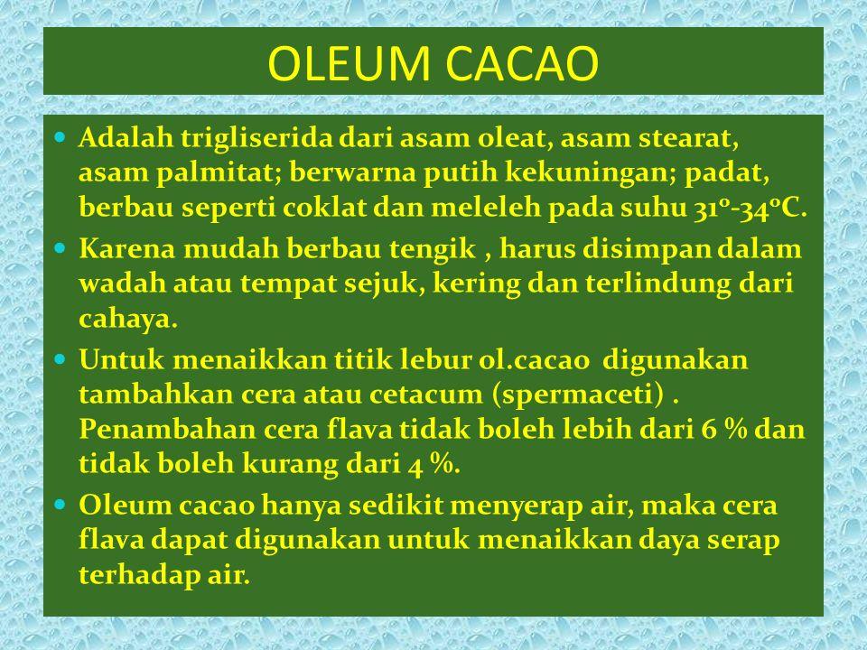 OLEUM CACAO