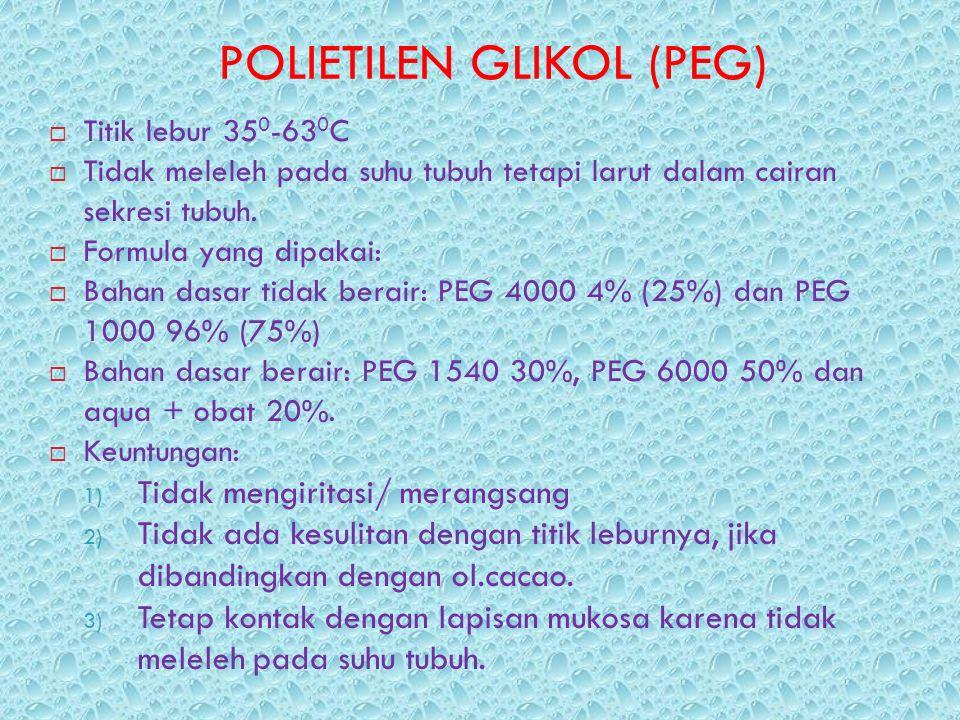 POLIETILEN GLIKOL (PEG)