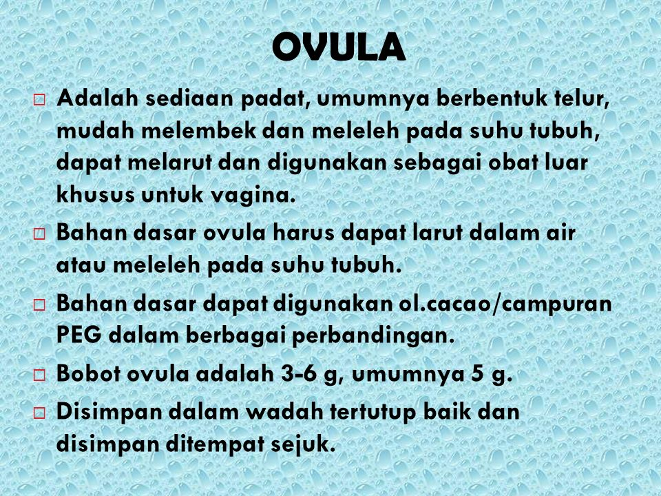 OVULA