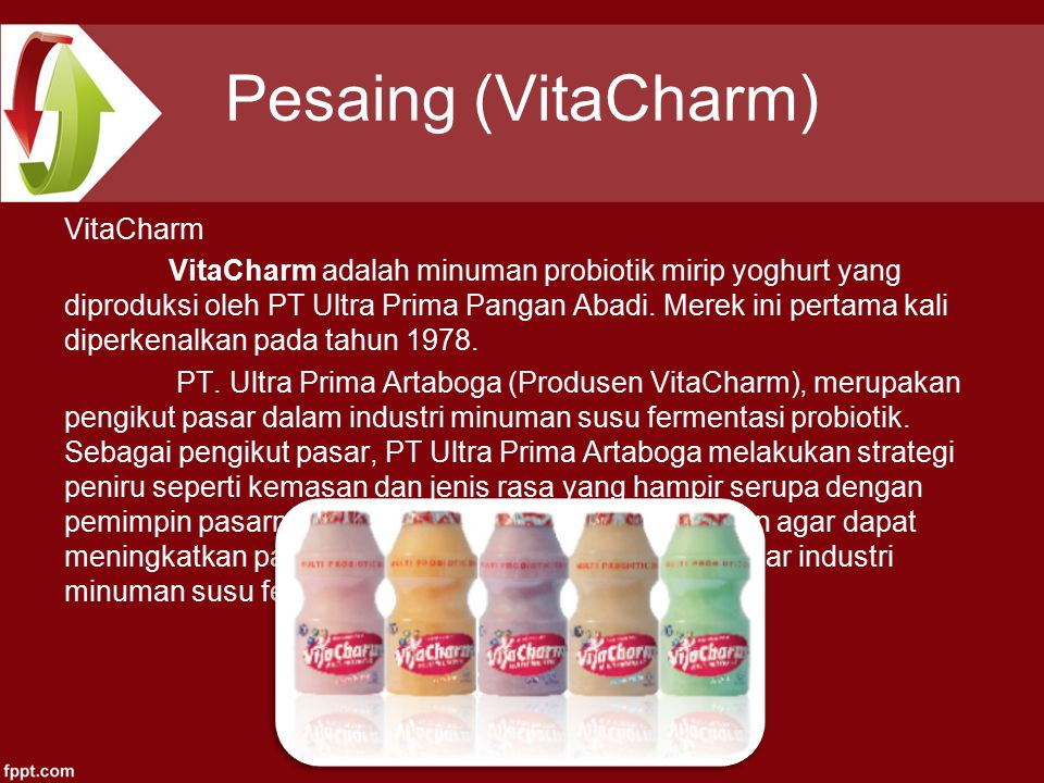 Pesaing (VitaCharm)