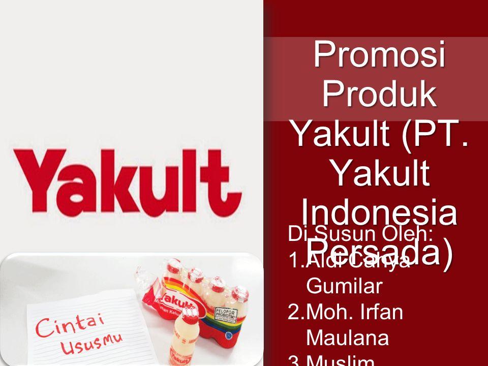 Promosi Produk Yakult (PT. Yakult Indonesia Persada)