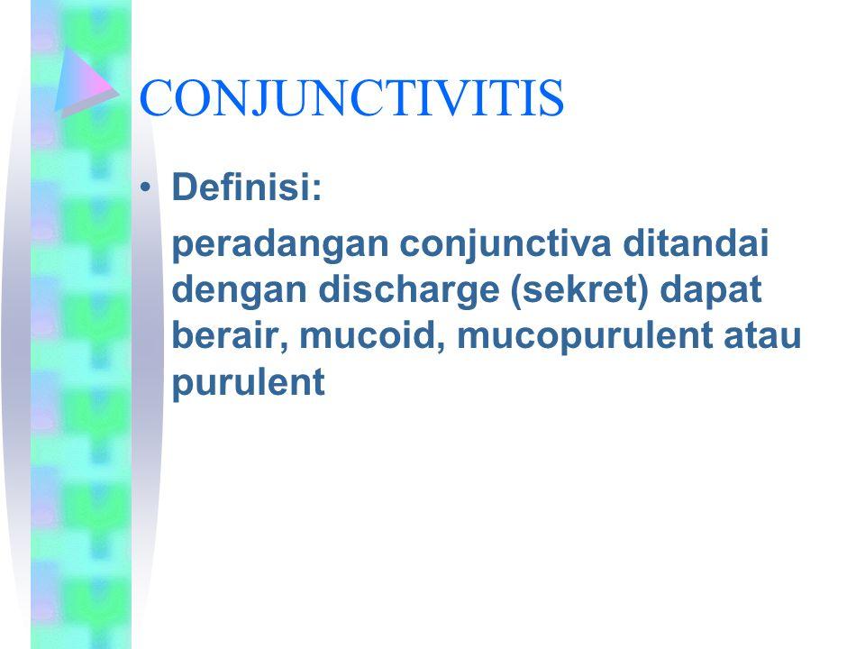 CONJUNCTIVITIS Definisi: