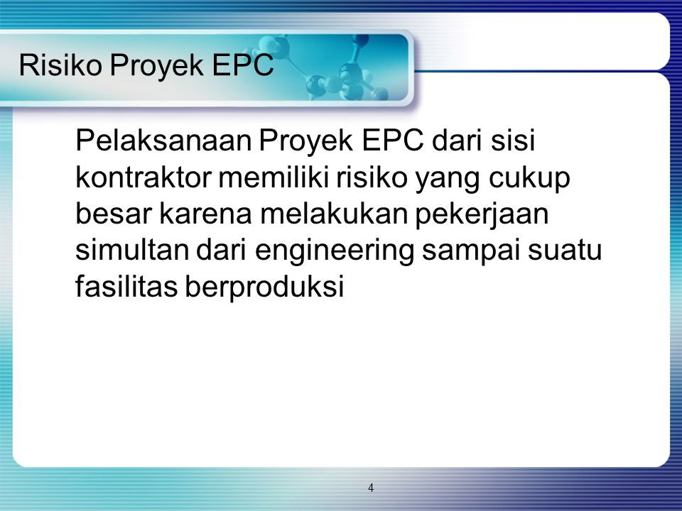 Risiko Proyek EPC