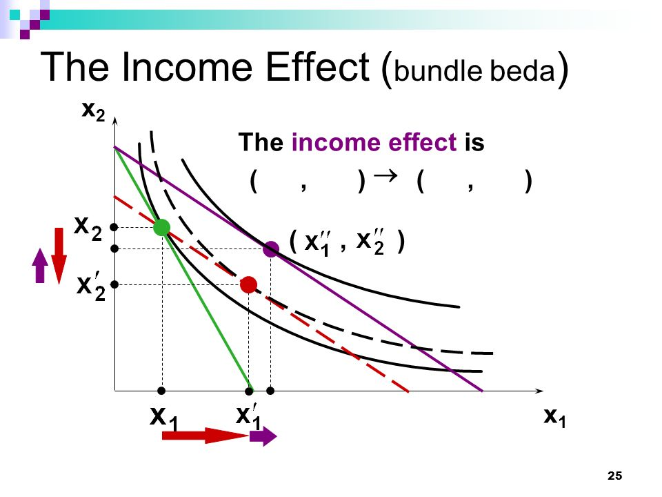 The Income Effect (bundle beda)