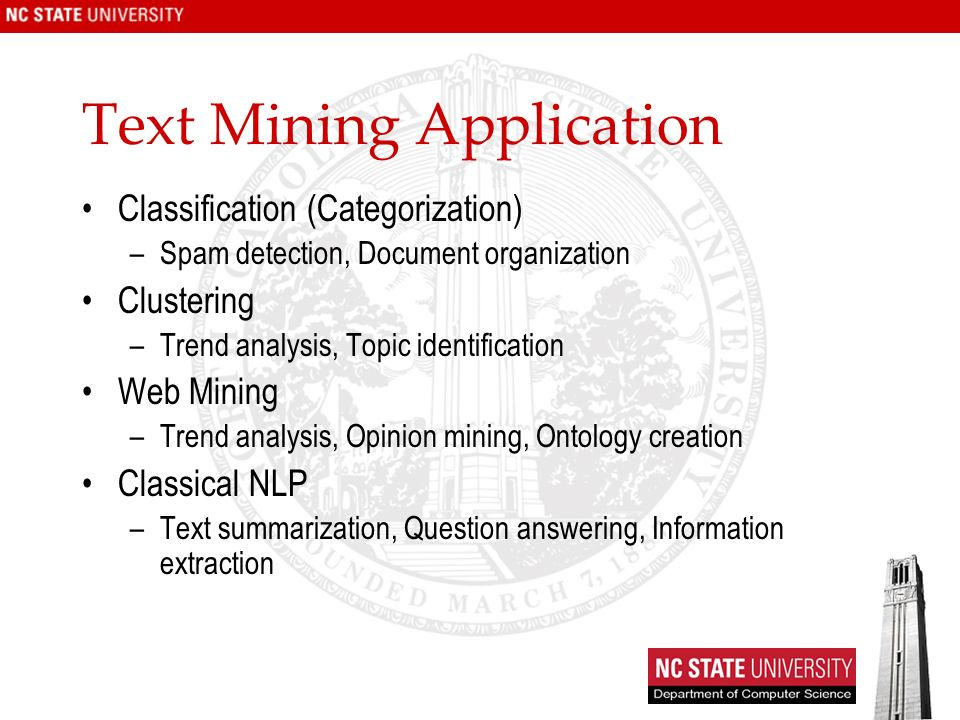 Text Mining Application