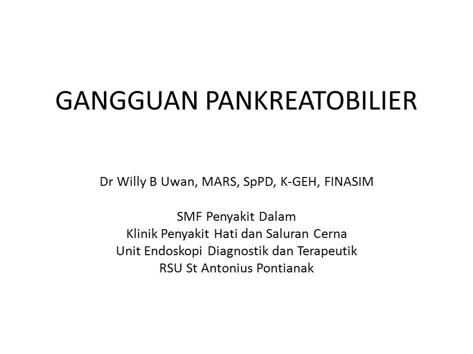 GANGGUAN PANKREATOBILIER