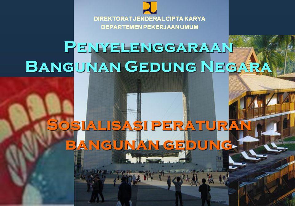 Penyelenggaraan Bangunan Gedung Negara