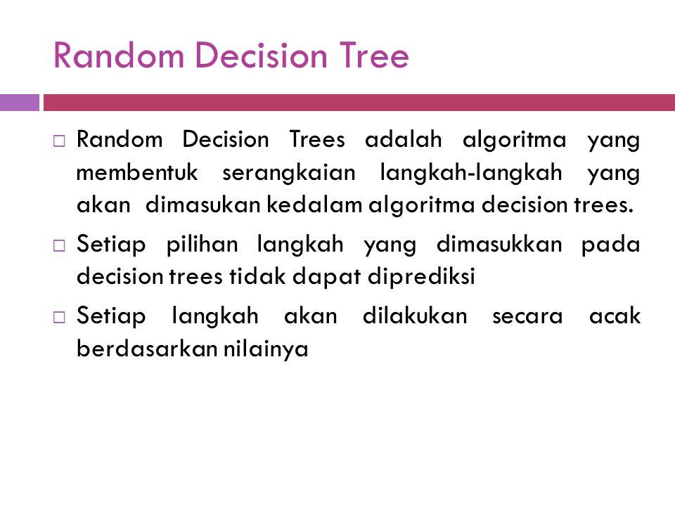 Random Decision Tree