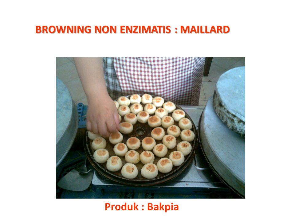 BROWNING NON ENZIMATIS : MAILLARD