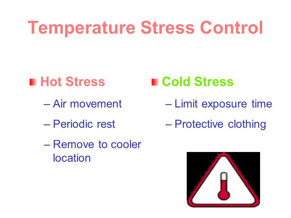 Temperature Stress Control