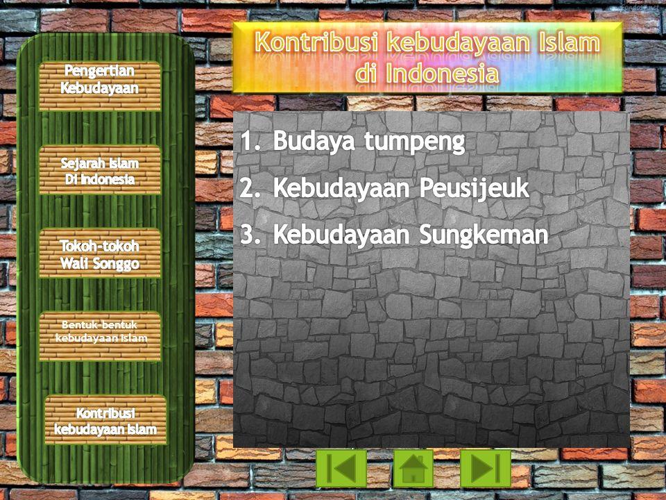 Kontribusi kebudayaan Islam di Indonesia