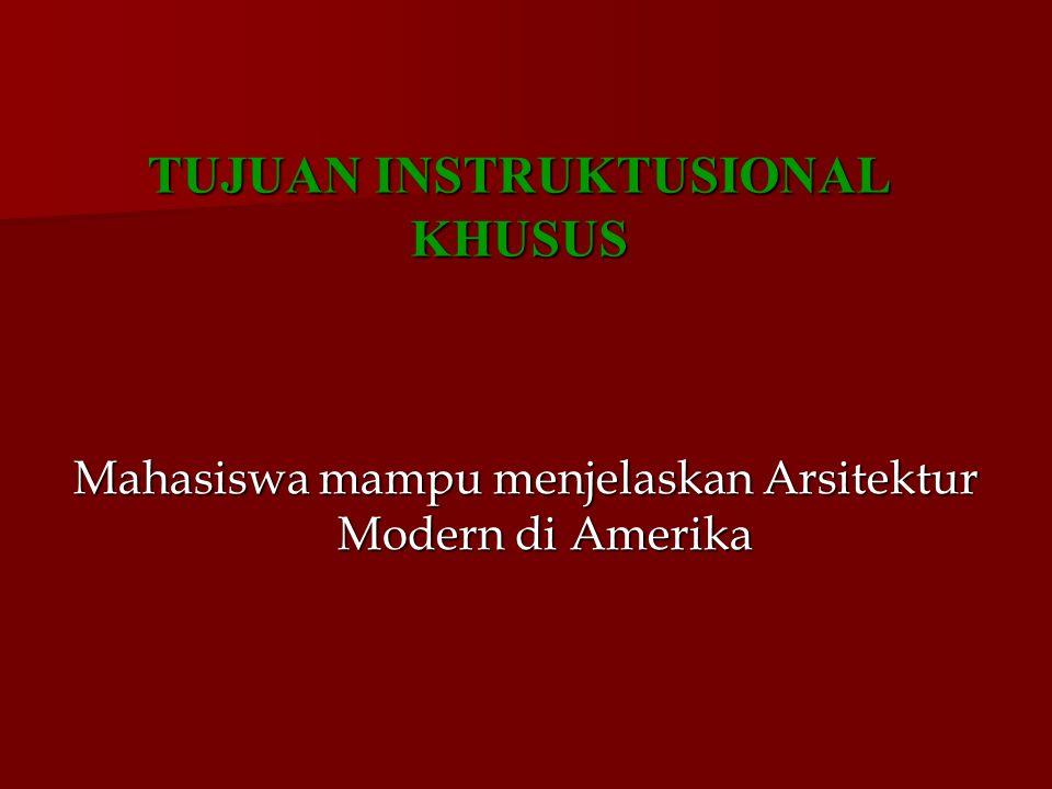 TUJUAN INSTRUKTUSIONAL KHUSUS