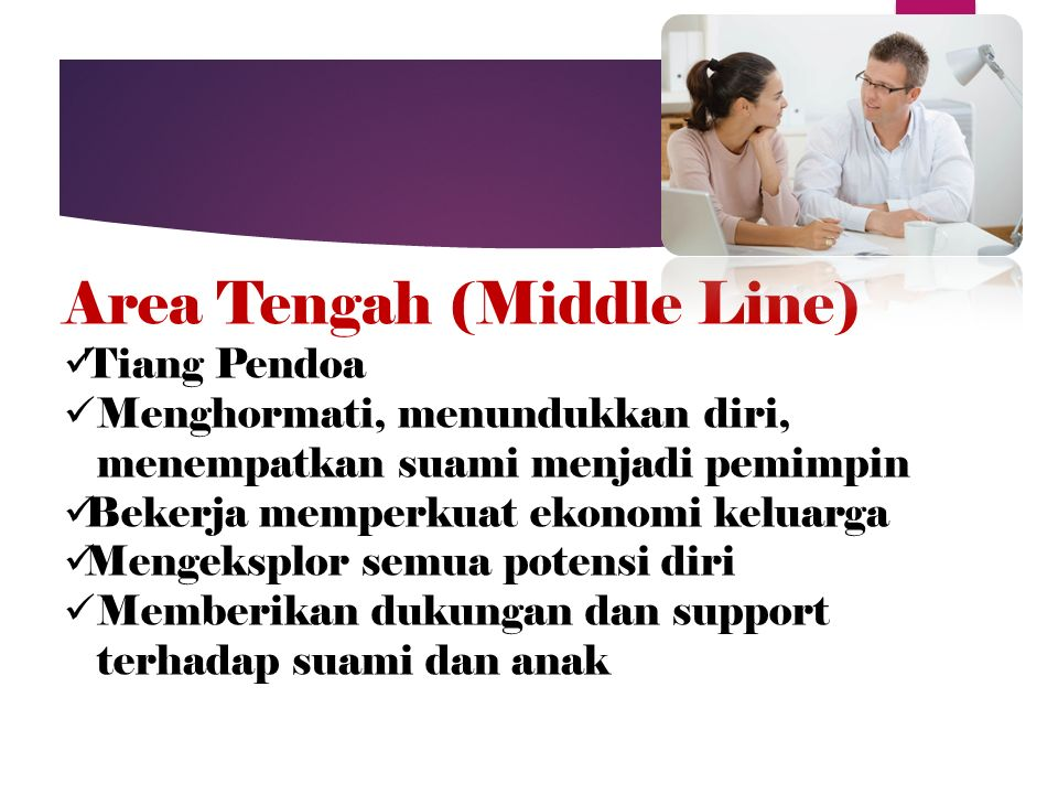 Area Tengah (Middle Line)