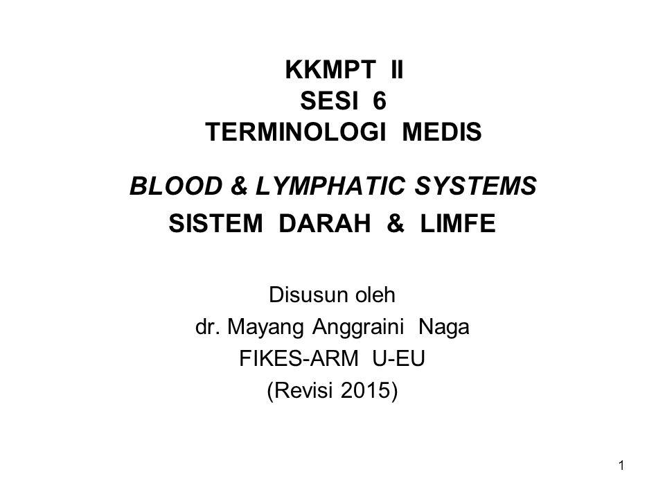KKMPT II SESI 6 TERMINOLOGI MEDIS