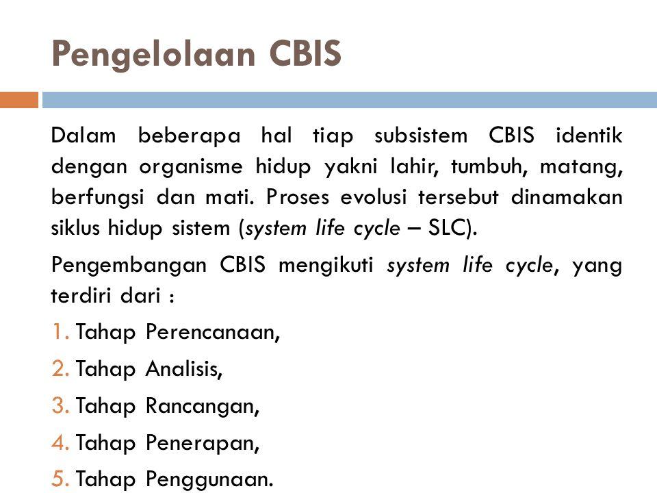 Pengelolaan CBIS