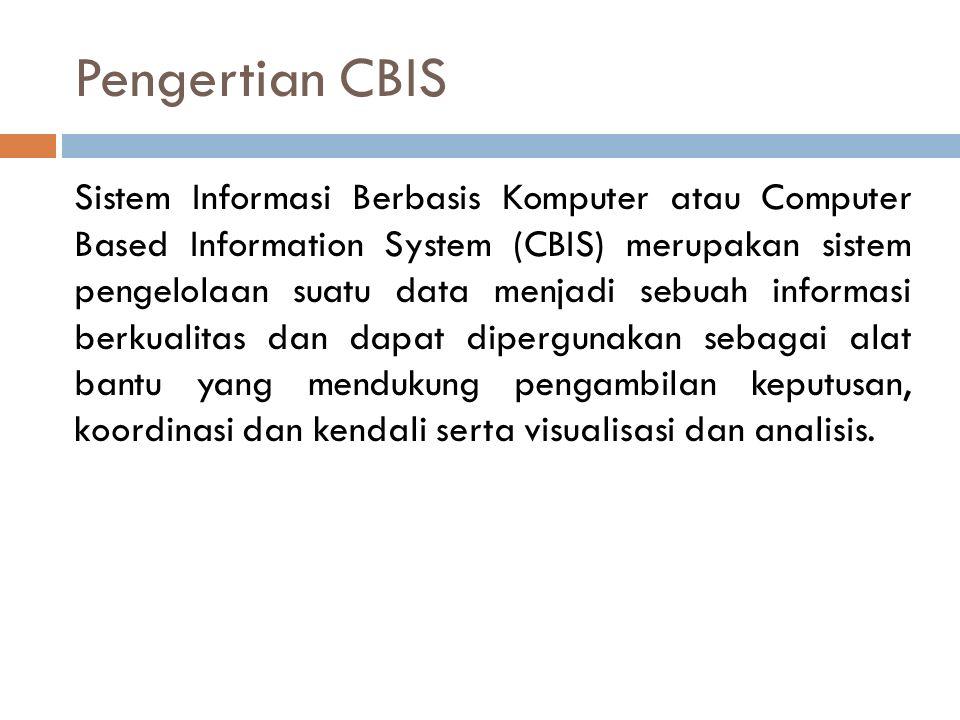 Pengertian CBIS