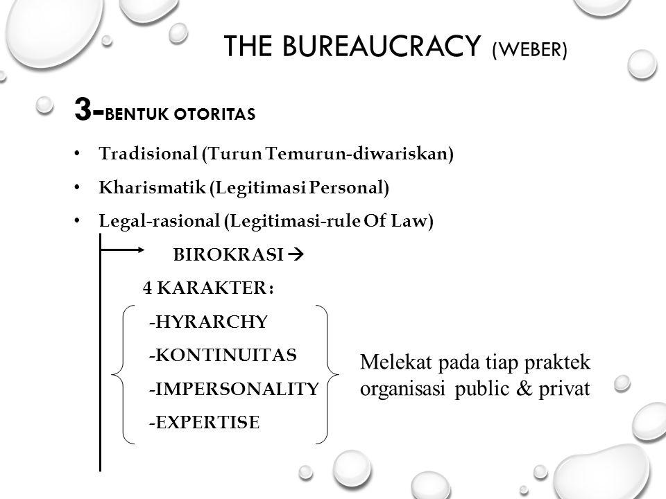The Bureaucracy (Weber)