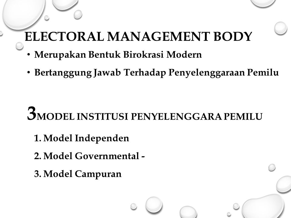 Electoral Management Body