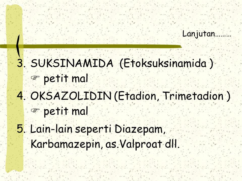 SUKSINAMIDA (Etoksuksinamida )  petit mal