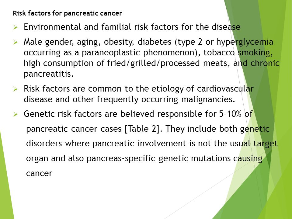 Environmental and familial risk factors for the disease