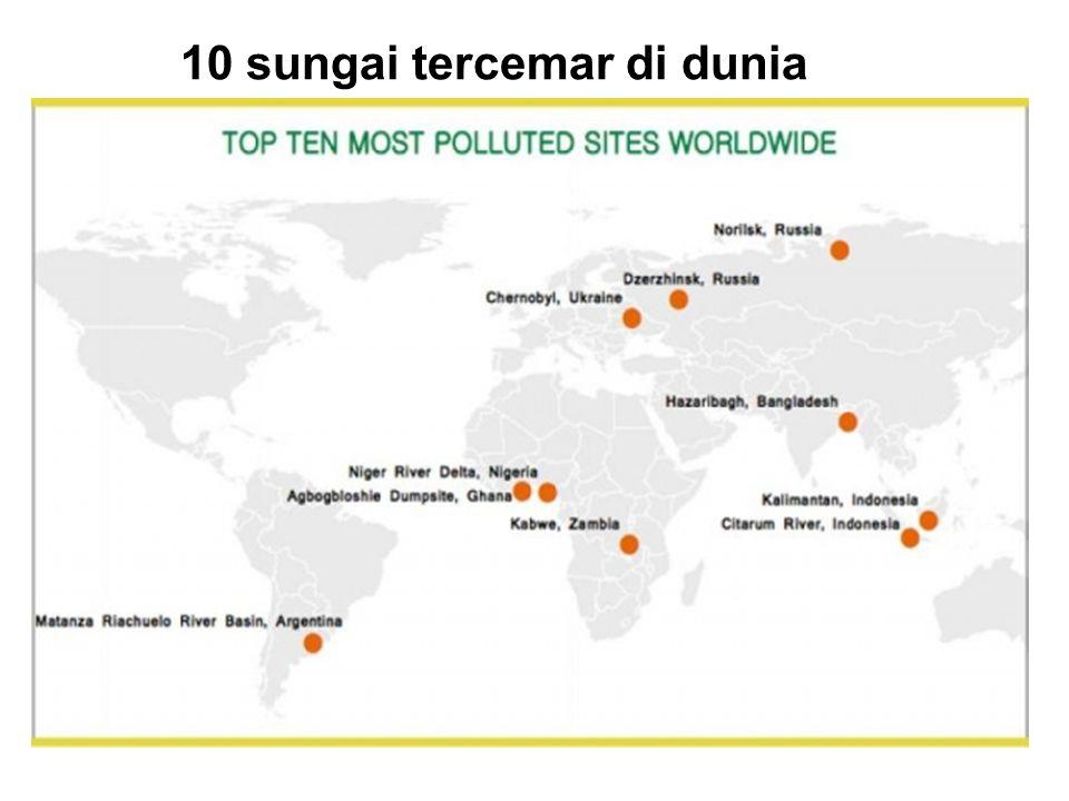10 sungai tercemar di dunia