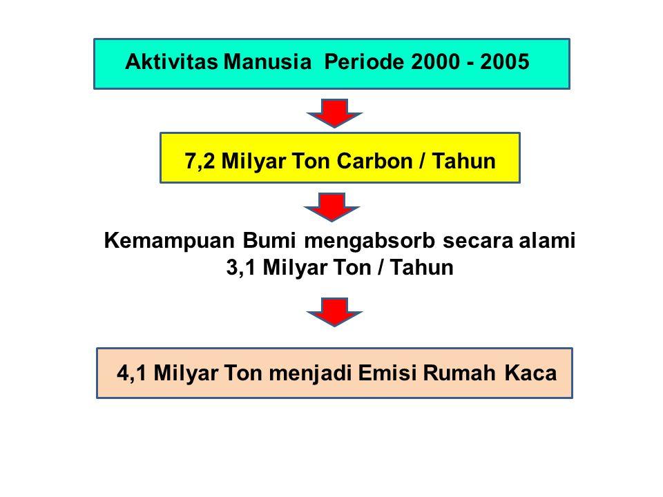 Aktivitas Manusia Periode 2000 - 2005