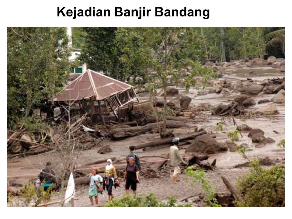 Kejadian Banjir Bandang