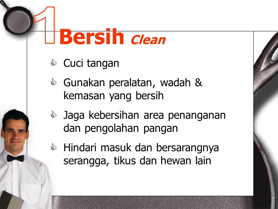 Bersih Clean 1 Cuci tangan
