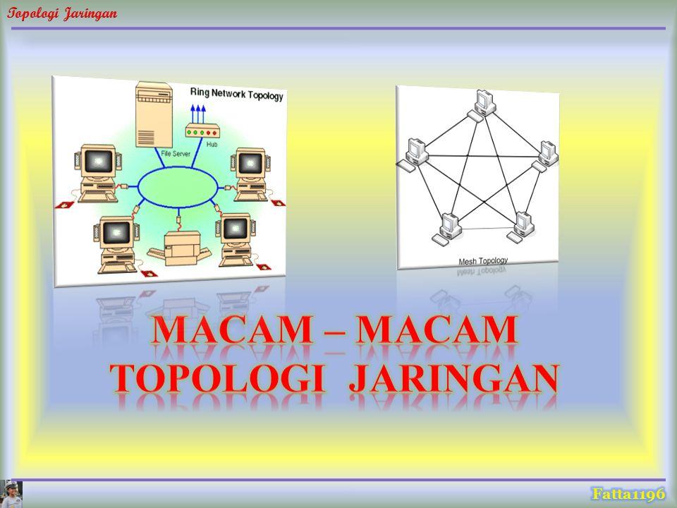 MACAM – MACAM TOPOLOGI JARINGAN