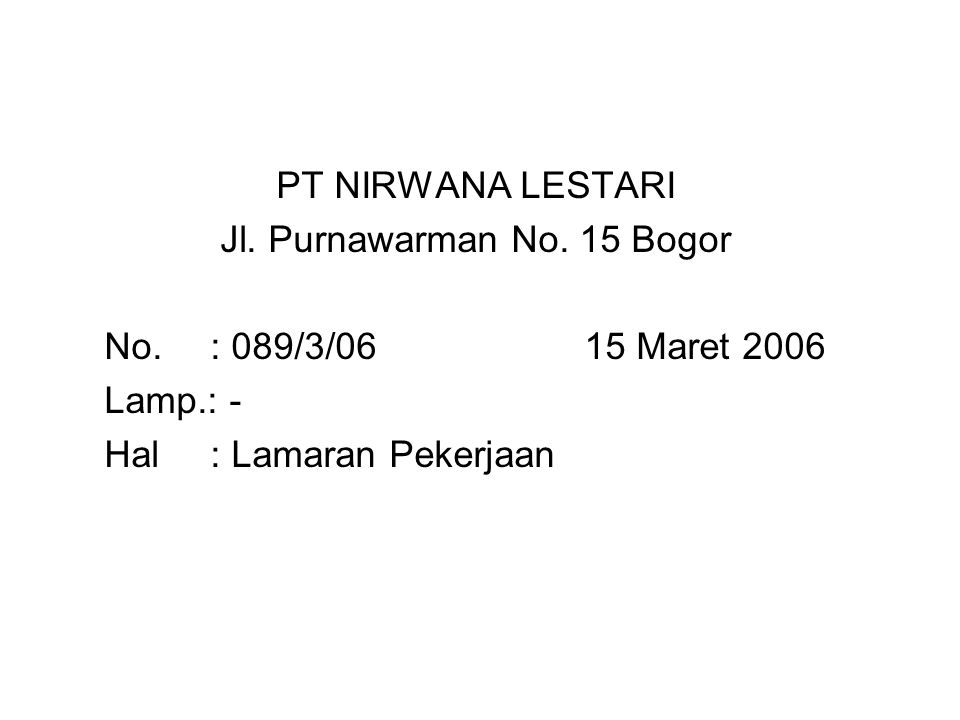 Jl. Purnawarman No. 15 Bogor