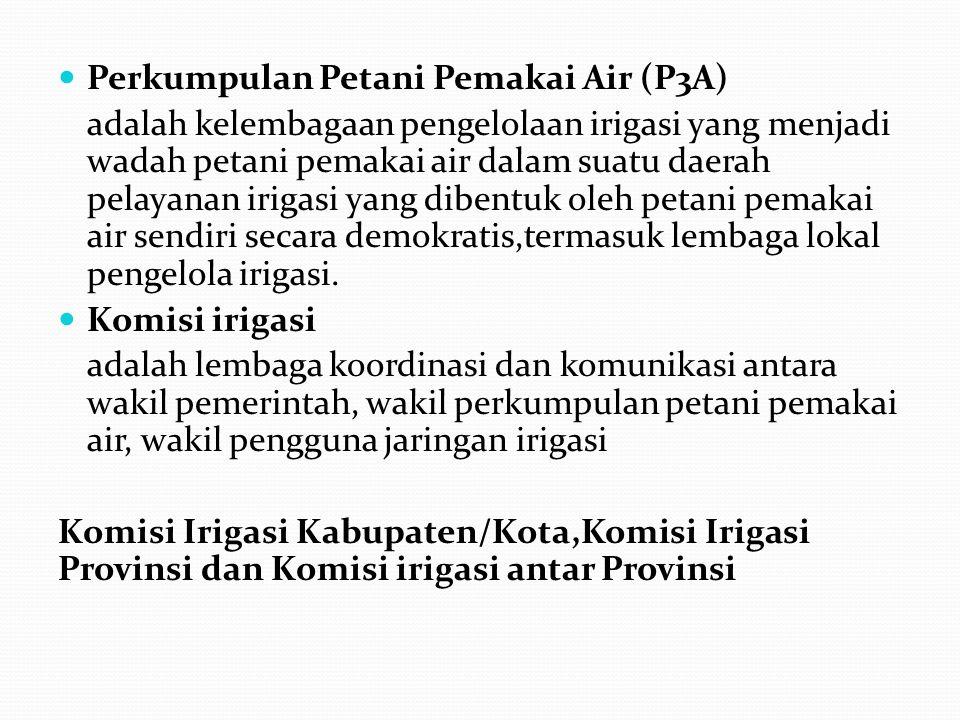 Perkumpulan Petani Pemakai Air (P3A)