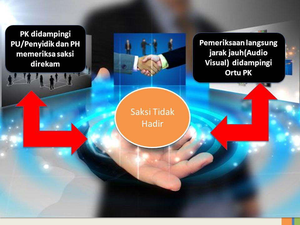 PK didampingi PU/Penyidik dan PH memeriksa saksi direkam