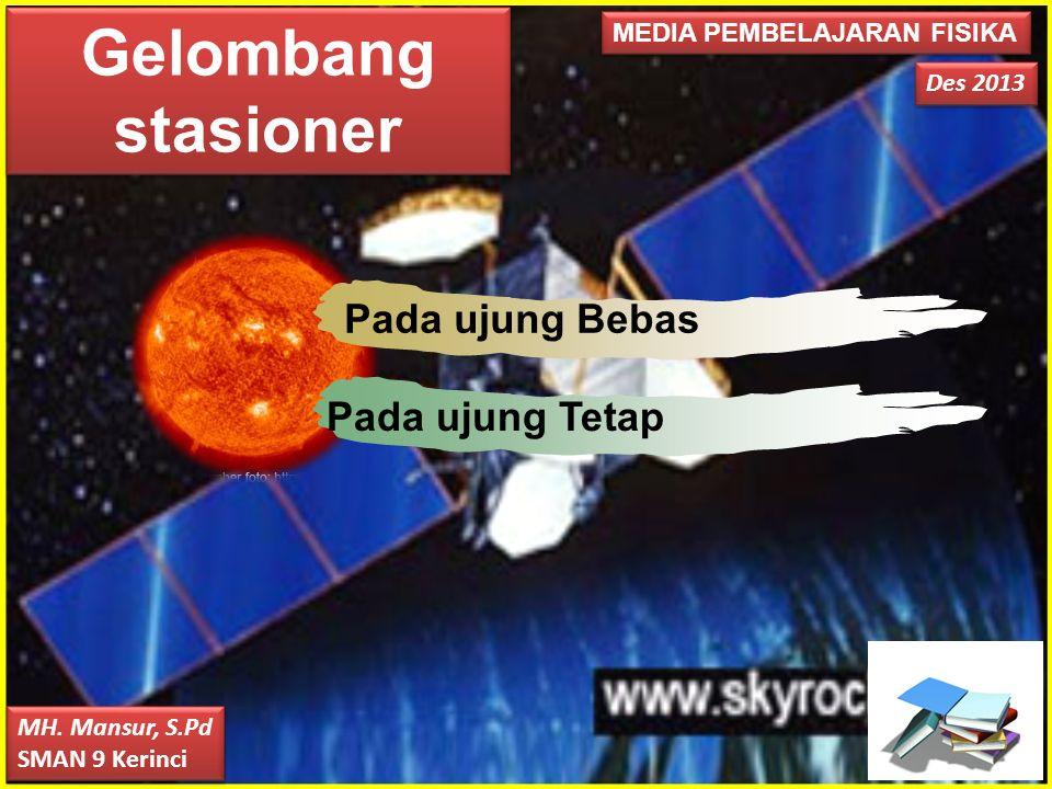 Gelombang stasioner Photo Album by Xp3 Pada ujung Bebas
