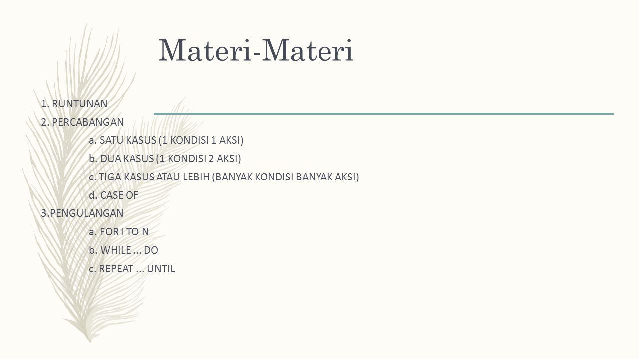 Materi-Materi