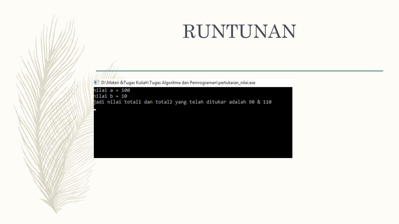 RUNTUNAN Program