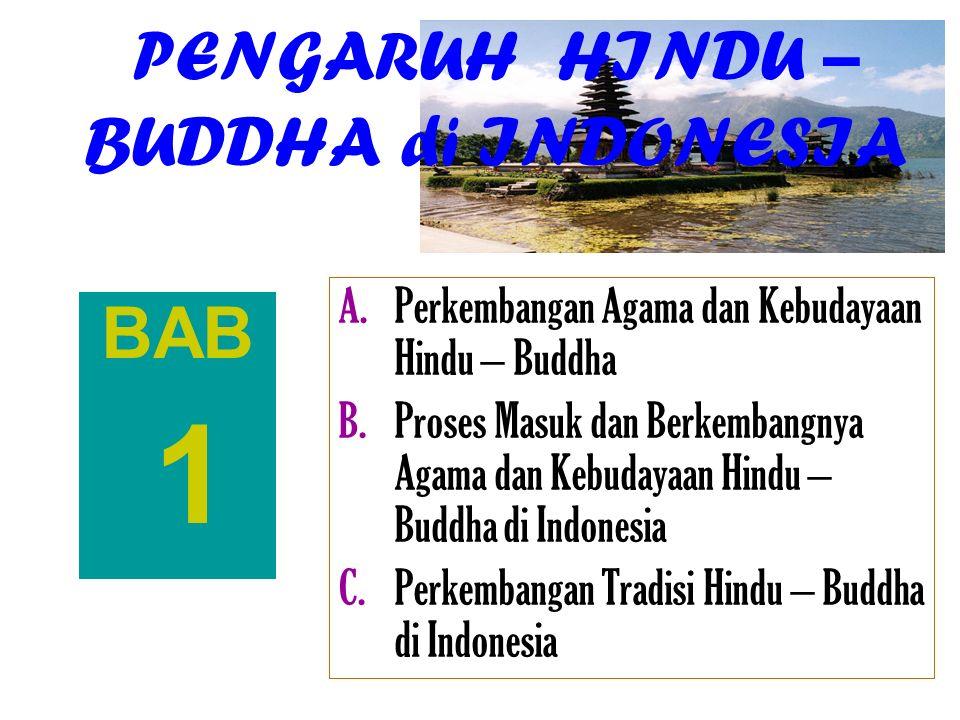 PENGARUH HINDU – BUDDHA di INDONESIA