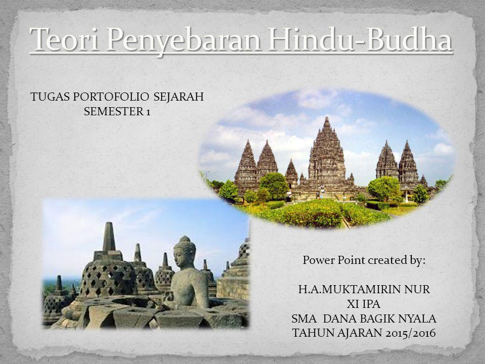 Teori Penyebaran Hindu-Budha
