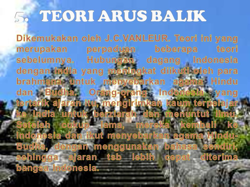 5. TEORI ARUS BALIK