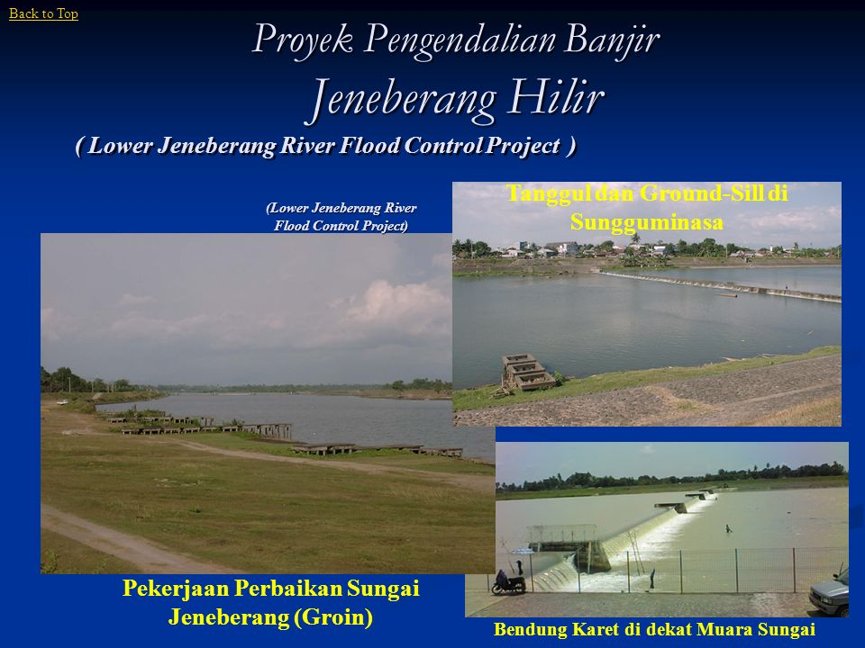 Proyek Pengendalian Banjir Jeneberang Hilir