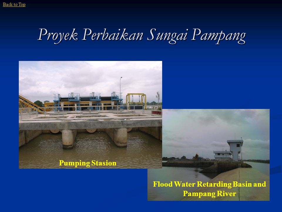 Proyek Perbaikan Sungai Pampang