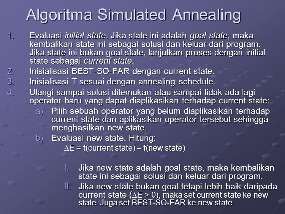 Algoritma Simulated Annealing