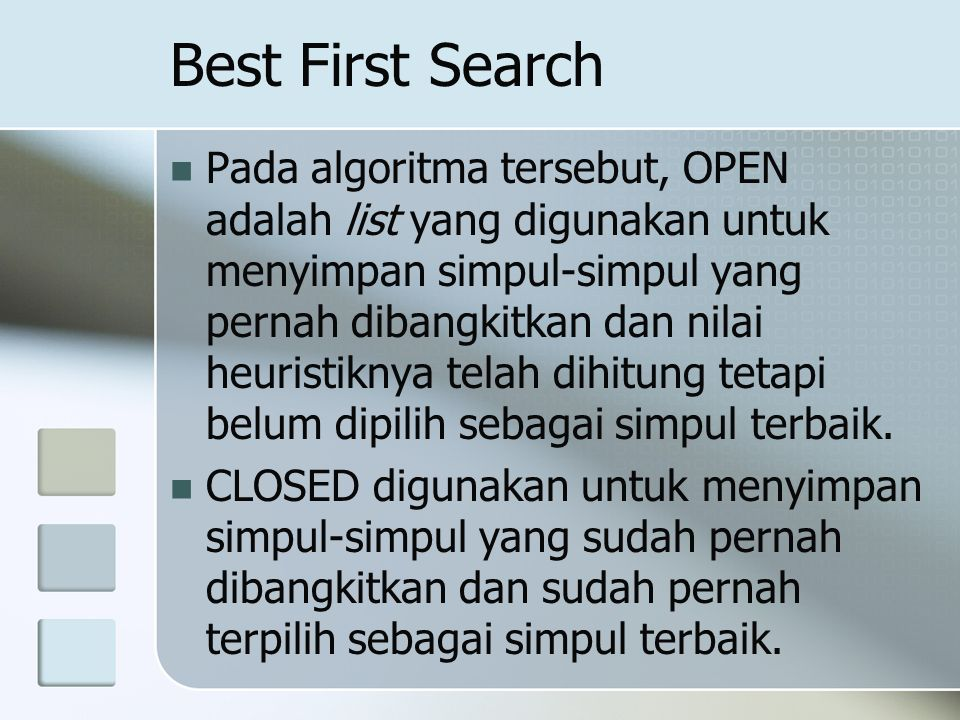 Best First Search