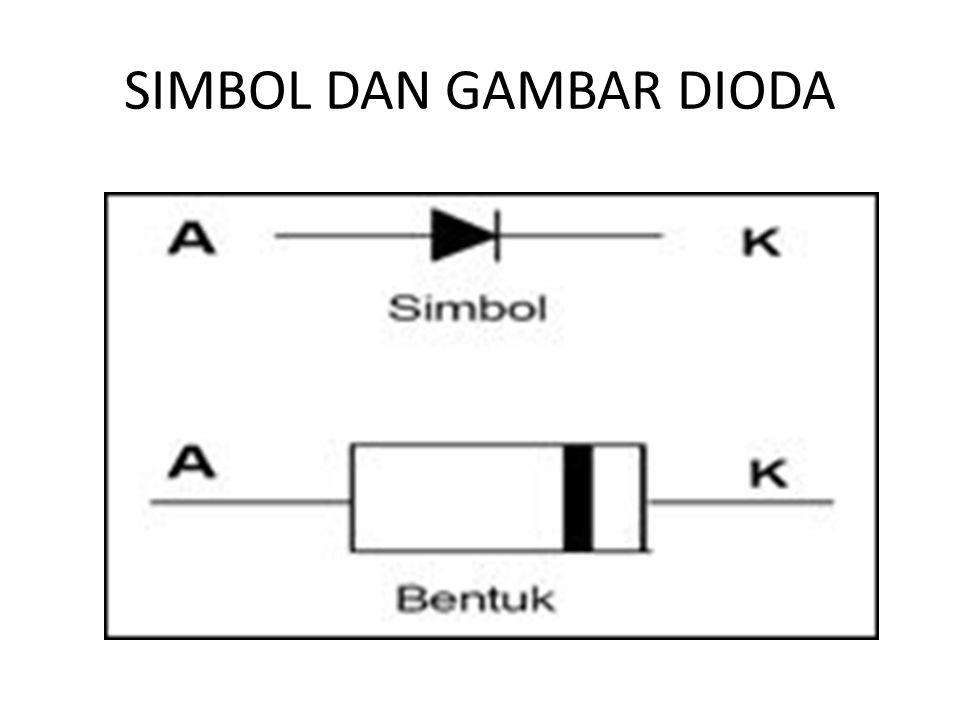 SIMBOL DAN GAMBAR DIODA