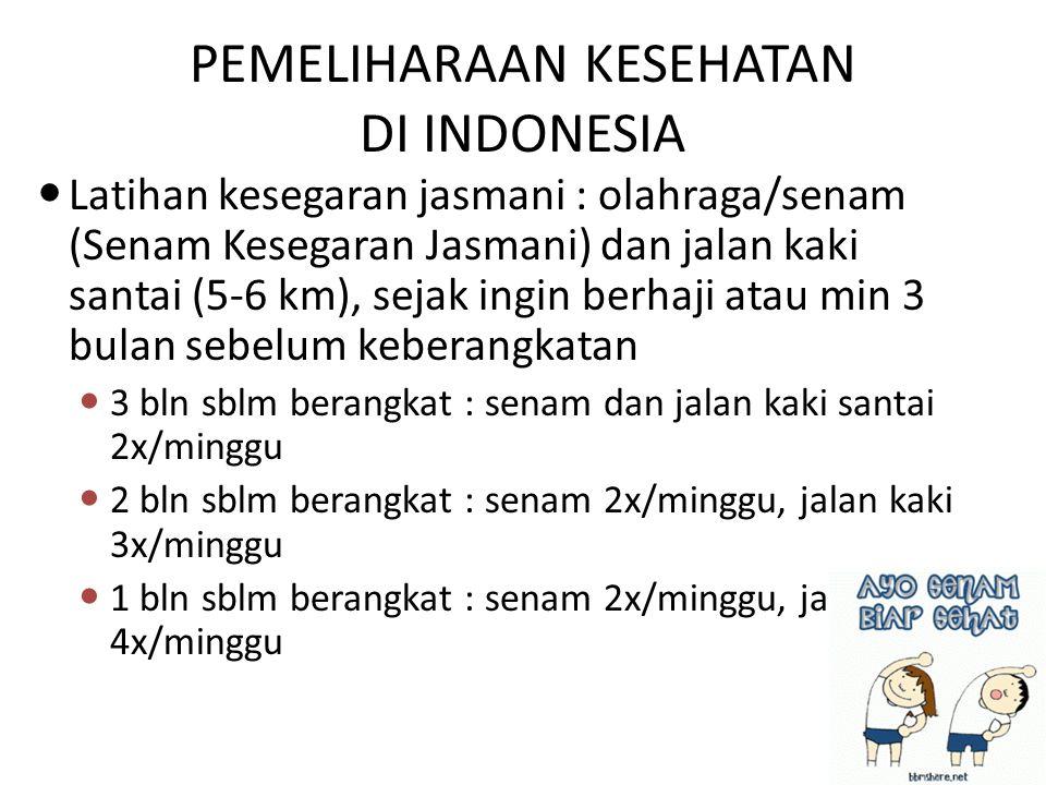 PEMELIHARAAN KESEHATAN DI INDONESIA